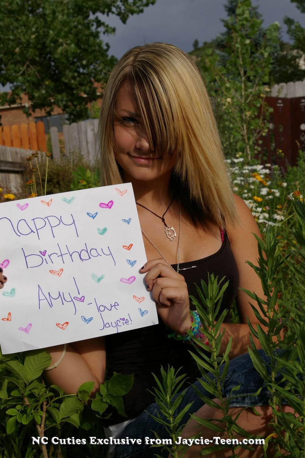 NC Cuties - My Birthday Gift From Jaycie!